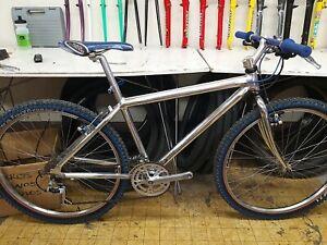 Klein mountain bike chrome color  aluminium 21 Sp.