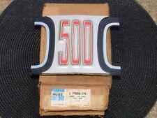 """1969 Dodge Coronet """"500"""" NOS MoPar GRILLE EMBLEM ORNAMENT #2898334"""