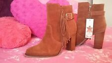suede boots brand new with tag size 6