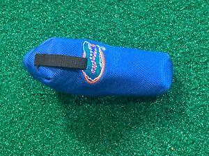 "GOLF NCAA FLORIDA GATORS BLADE 6"" PUTTER HEADCOVER - UF Golf Head Cover GREAT"