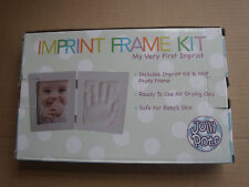 Baby Hand & Foot Print Clay Cast Kit With Photo Frame and  Free Hanging Kit