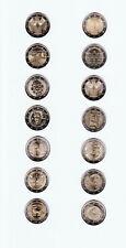 14 x 2 Euro Sondermünzen aus dem Jahr 2018
