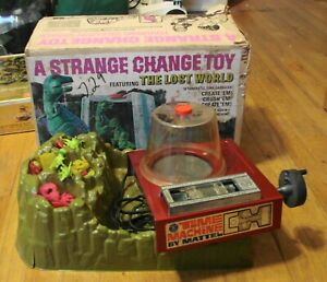 Vintage 1967 Mattel A Strange Change Toy Featuring The Lost World in Box