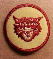 BSA  PATROL MEDALLION PATCH - BOBCAT - 1972 - 1989  - PRE-OWNED   B00034