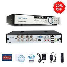 HISVISION 8CH 1080N AHD DVR 5-in-1 Hybrid 1080P 8-channel HDMI QR Code Scan Easy