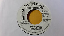"Daweh Congo - Kings of Kings /Roots Reggae 45""  on jah Youth  Label orig,"