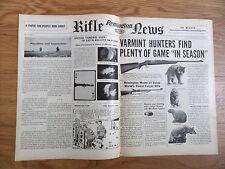 1953 Remington Rifle Gun News Ad Varment Hunters Model 722