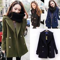 Fashion Hot Women's Loose Winter Warm Coat Wool Jacket Outwear Short Coat Korean