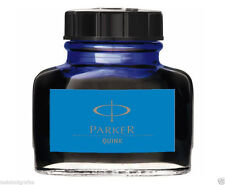Parker Quink Fountain Pen Ink - 57ml Bottle - Blue. Tintero Parker 57ml  . azul