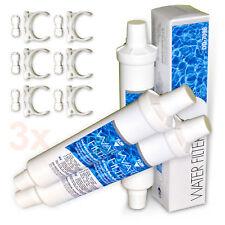 3x DD-7098 Wasserfilter für Daewoo Side by Side Kühlschrank