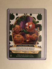 2018 Disney Halloween Party Sorcerers of the Magic Kingdom Orange Bird Card New
