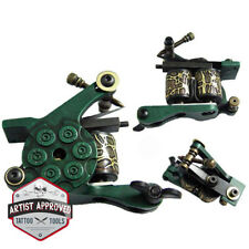 Tattoo Machine Shader 10-Wrap Coils - Green