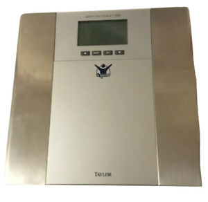Biggest Loser Scale by Taylor BMI Body Fat Scale 5568BL Body Fat Analyzer Manual