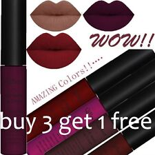 34 Colors Waterproof Matte Long Lasting Liquid Lipstick Makeup Lip Glosses Xmas