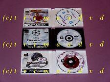 ACTUA SOCCER 3 & LEGA FEDERALE CALCIO 2000-Manager & Uefa Champions Leag. 2000/01