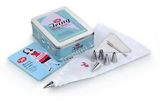 Tala 1960's Icing Bag Set with Stainless  Nozzles - Cake/Baking Decoration