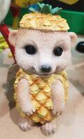 Meerkat 12 Cm Pineapple Costume By Mirabella Home And Garden Decoration