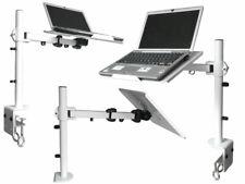DJ PA Laptop Stativ Mixer Halterung Controller Stand Notebook Halter Ablage weiß