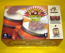 DONKEY KONGA PAK GameCube Versione Ufficiale Italiana •••• COME NUOVO