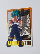 carte dragon Ball z hors serie Hondan spécial Vegetto