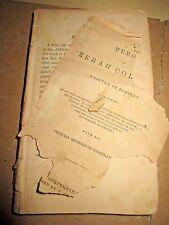 A Memoir of Zerah Colburn 1833 child prodigy, mental calculator. VERMONT
