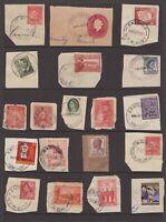 NSW E postmark group on piece