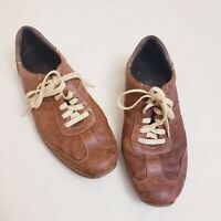 Cole Haan Men's Brown Leather Lace Up Shoes, Size 12