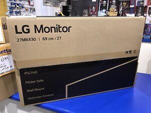 LG 27inch 27MK430H-B FHD IPS LCD 75hHz FreeSync 1920 X 1080 VGA HDMI Monitor...