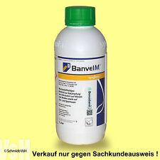 1 L Banvel M, Unkrautvernichter, MCPA, Nur für den beruflichen Anwender.