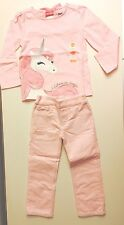 Gymboree Girls Long Sleeve Pink Unicorn Tee&pink Sparkle Cords Size 2T NWT
