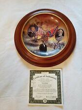 """""""Gettysburg"""" Bradford Exchange Plate. Battles of the American Civil War. Vintage"""