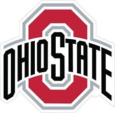 """Ohio State Buckeyes Color Vinyl Decal Sticker - You Choose Size 2""""-28"""""""