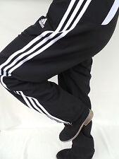 Adidas Mujer Formación Pantalón Deporte Pantalones Jogging Negro Talla 34 XS