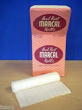 Barber Chair Head Rest Paper Roll  MARCAL original hard to find ( 3 - ROLLS )