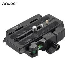 Tripod Quick Release Clamp Plate for Manfrotto 501 500AH 701HDV 503HDV Q5 B9E3