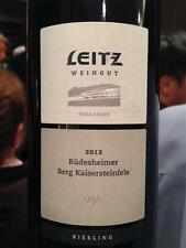 6 BOTTLES RIESLING RUDENSHEIMER BERG KAISERSTEINFELS TERRASEN 12%  2013 LEITZ
