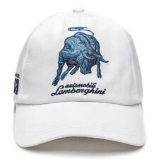 Lamborghini 1963 Bull Ball Cap / Hat In White