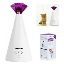 Pixnor Interactive Led Training Laser Cat Toy Rotating Pet Laser Pointer for Cat