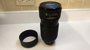 Nikon Nikkor AF 80-200 mm F/2.8D ED Zoom Lens