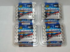 120 AC Delco AA Alkaline Battery (4X 30 pack) Expiration 2028  FREE SHIP (RM-6)