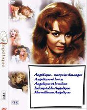 Angélique 5 movies DVD Collection. Angеlique Multilanguage: voice and subtitles