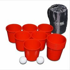 Giant Yard Beach Pong - #1 Giant Beer Pong Game - Family Friendly Outdoor Game