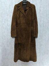 Jil Sander Vintage Archive Quilted Embroidered Brown Suede Leather Jacket