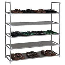 Armoire à Chaussures Avec 5 Dépôt Support pour Meuble à Schuhgarderobe Rangement
