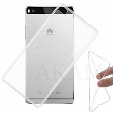 Soft TPU Silicon Crystal Clear Gel Flexible Back Skin Case Cover For Huawei P8