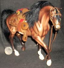 1:12 Breyer Horse Dollhouse Miniature Tack S. Peterson Prestige Leather #7498
