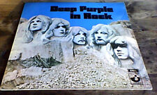Deep Purple-Deep Purple en Rock Emi cosecha G/F LP Reino Unido 1970 Rock Clásico A2/B1