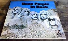 DEEP PURPLE - DEEP PURPLE IN ROCK EMI HARVEST G/F UK LP 1970 CLASSIC ROCK A2/B1