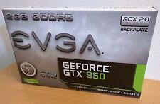 EVGA GeForce GTX 950 2GB FTW GAMING, Silent Cooling Graphics Card 02G-P4-2958-KR