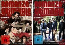 ROMANZO CRIMINALE TV-Serie STAFFEL 1 & 2  Francesco Montanari 4 DVD Box Edition
